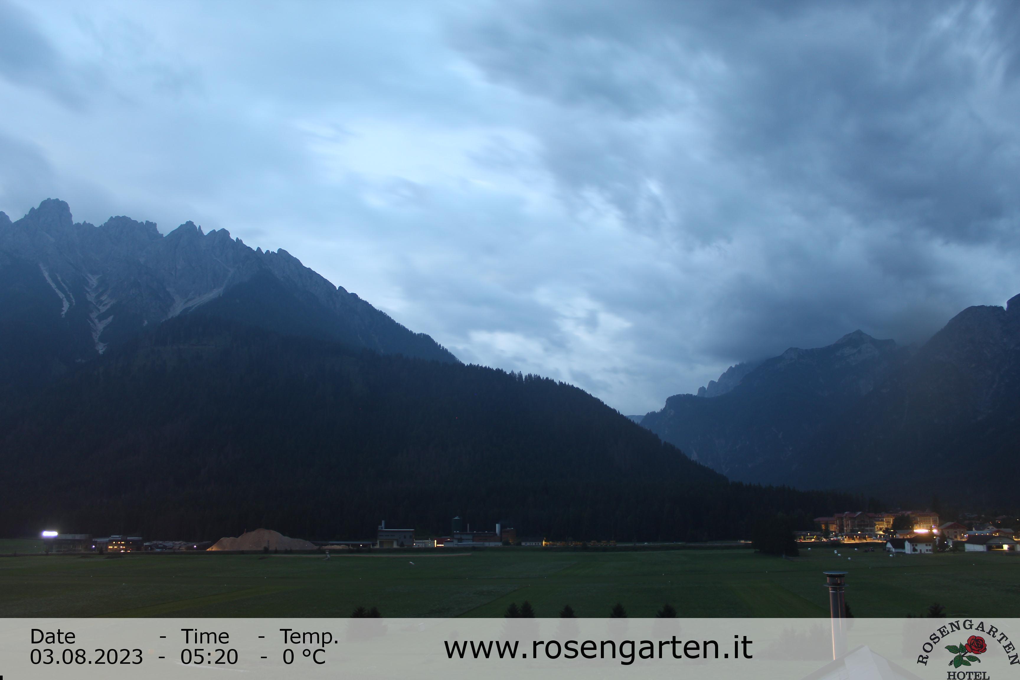 Toblach (Dolomites) - View of the Dolomites